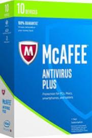McAfee AntiVirus Plus 2017